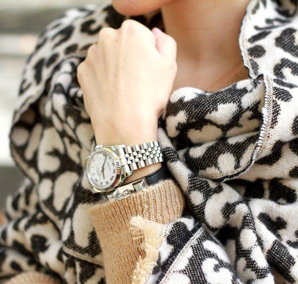Leopard Blanket Scarf