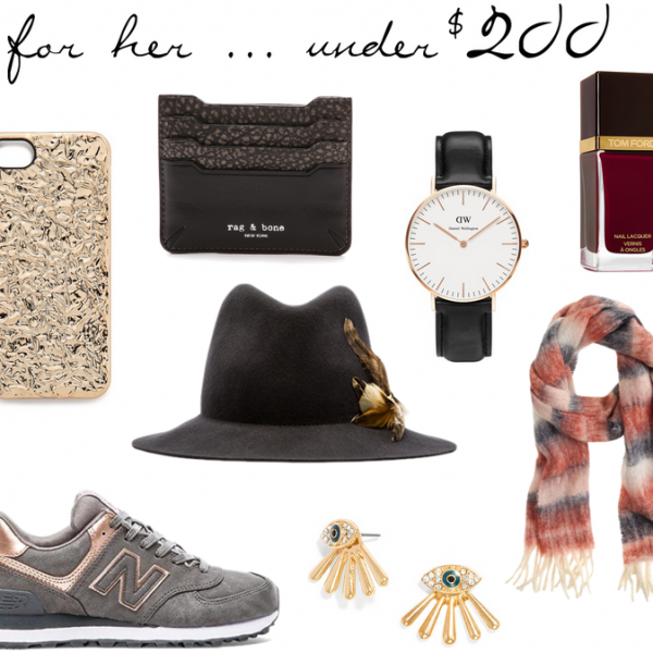 Gift Guide: For Her…Under $200