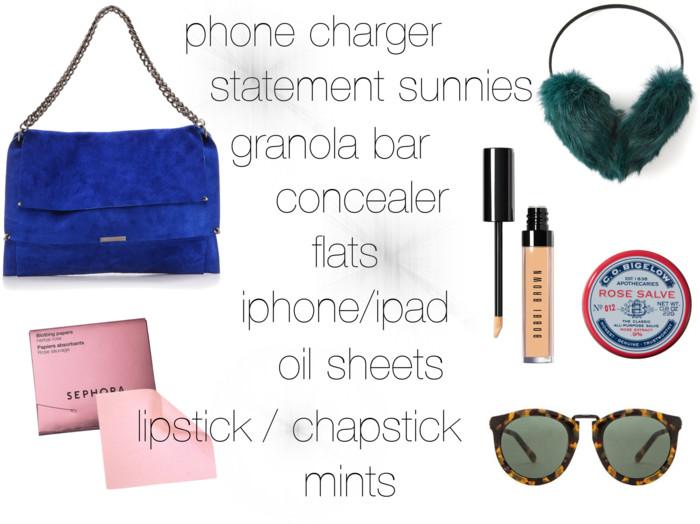 Fashion Week Check-List