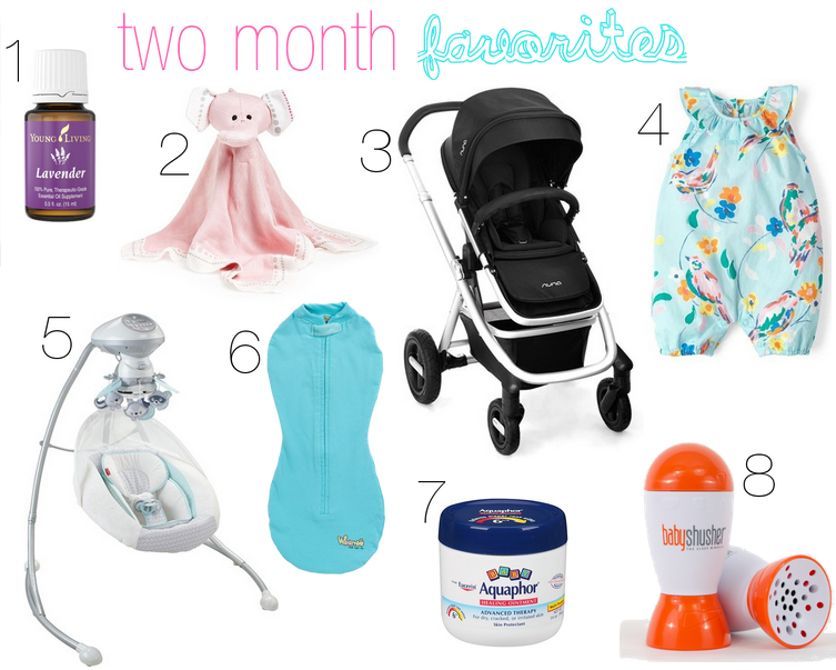 Month Two Favorites