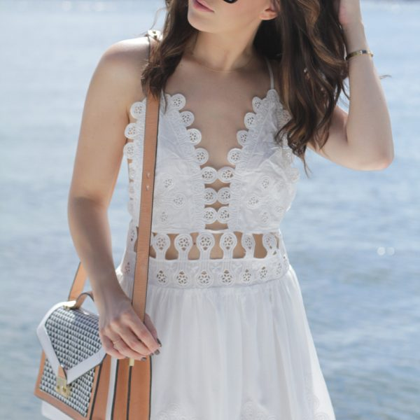 Embroidered Cut Out Dress (AKA the Chloe dress for less)