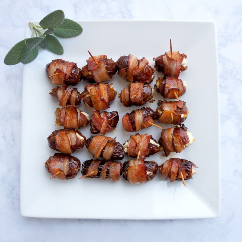 Tasty Tuesday: Bacon Wrapped Dates (easy NYE appetizer)
