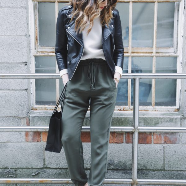 Budget-Friendly Olive Joggers