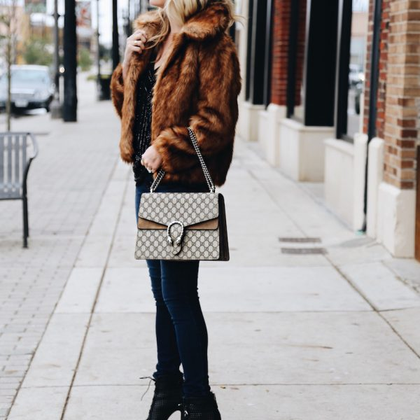 Faux Fur for the Holidays
