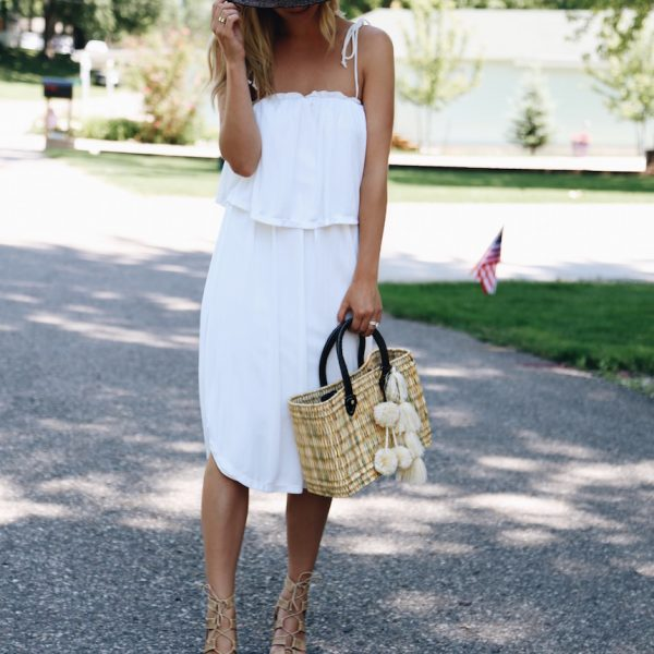 The Perfect Summer Dress & Tote