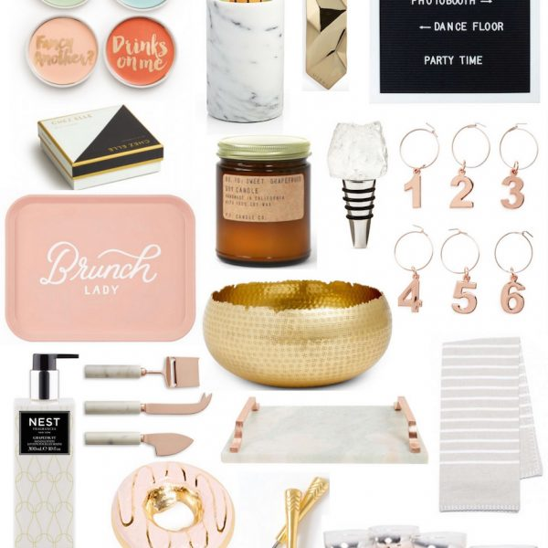 Gift Guide: Hostess Gifts