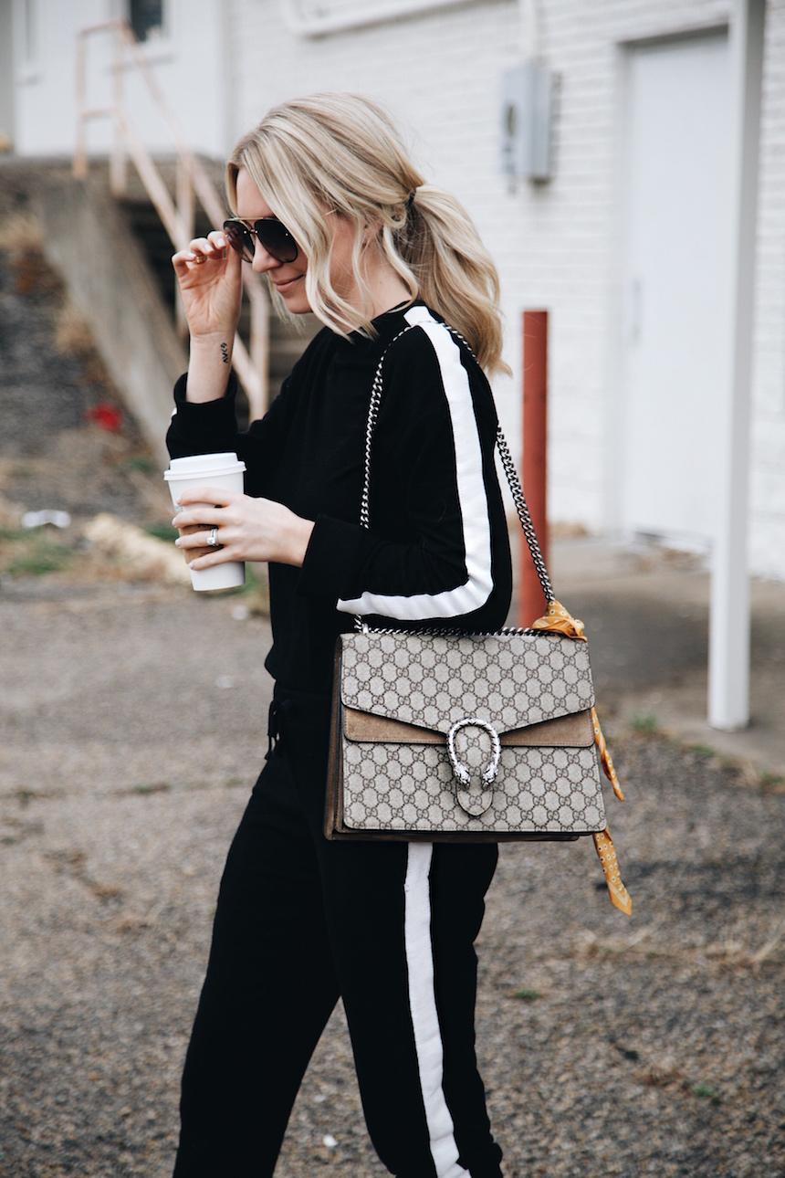Side Stripe Sweatsuit