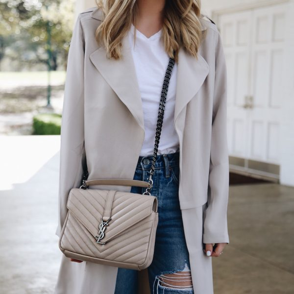 A Lightweight Trench For Spring