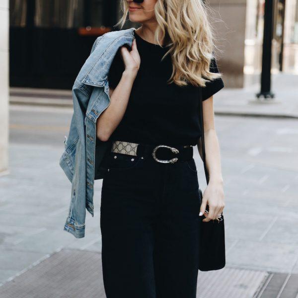 Not So Basic Black Jeans