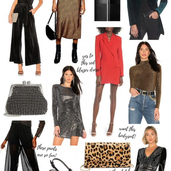 NYE Outfit Ideas (Going Out & Staying In)