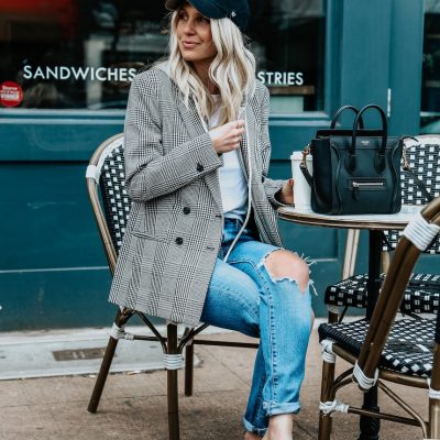 Two Easy Looks For Warm Or Cold Weather