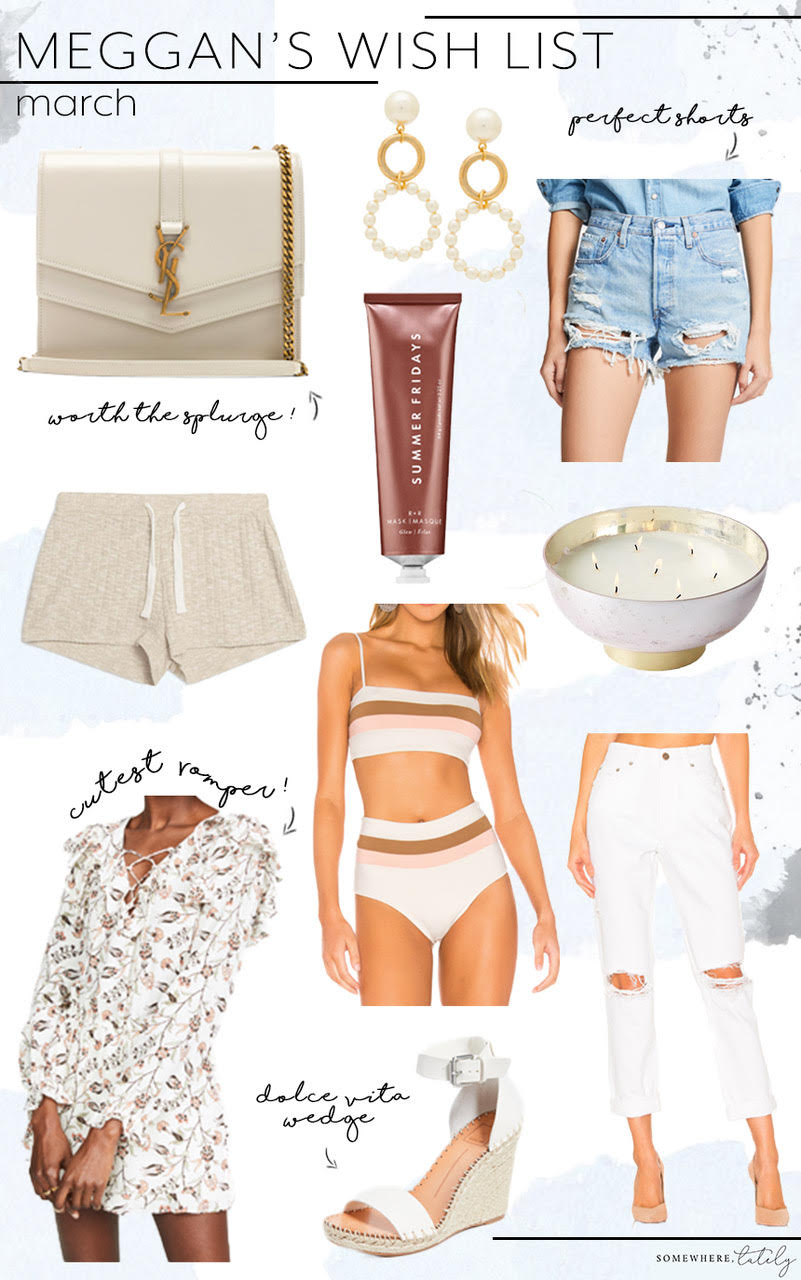 Our March Wish List