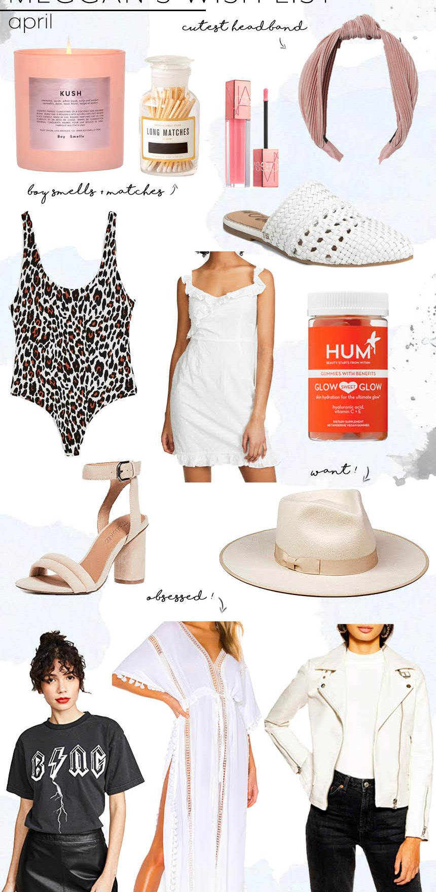 Our April Wish Lists
