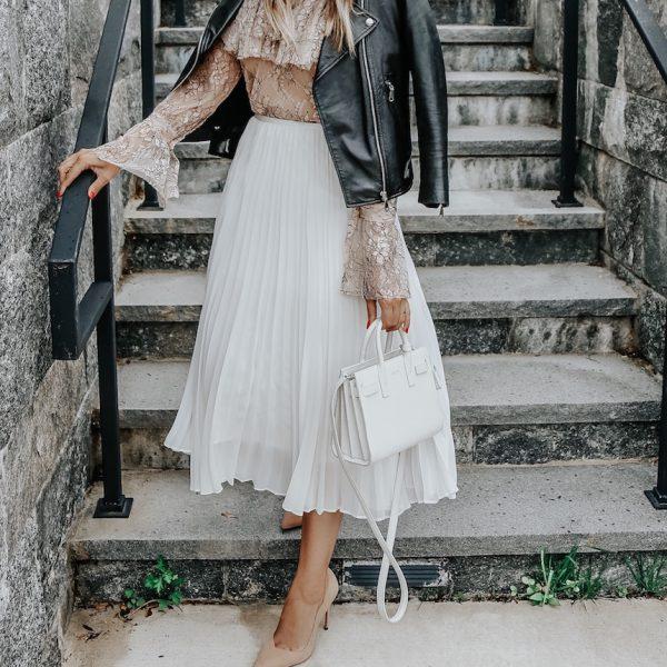 Two Ways To Wear A Feminine Blouse