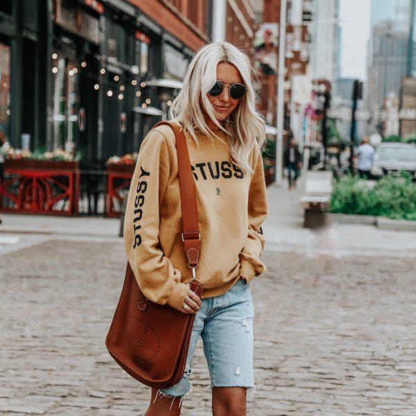 Any Easy Way To Style Denim Shorts
