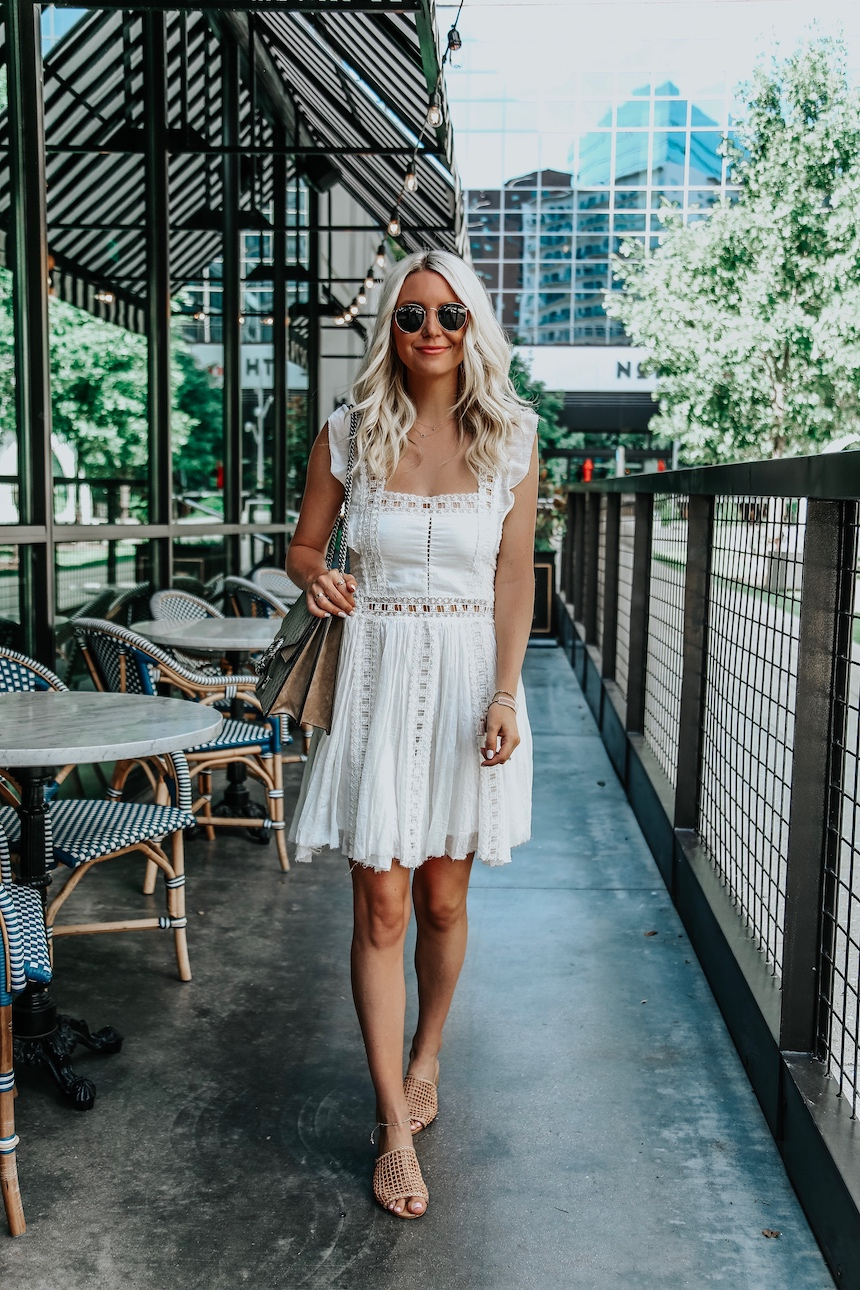 The Perfect White Minidress