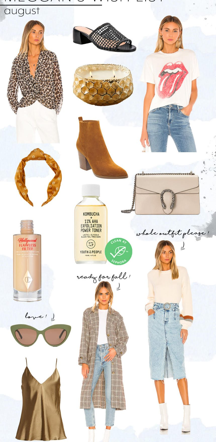 August Wish Lists