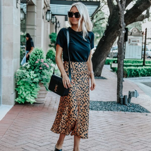 A Stylish Leopard Print Skirt (Under $65!)