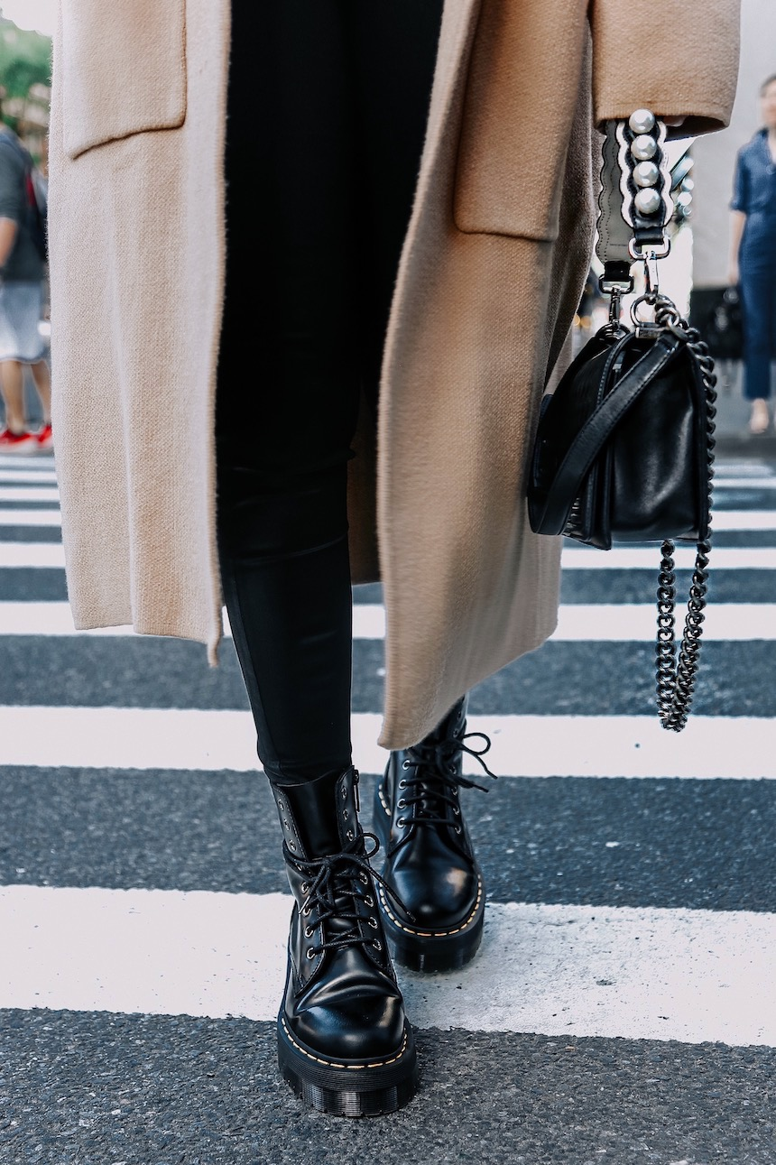Latest Obsession: Edgy Lace Up Boots