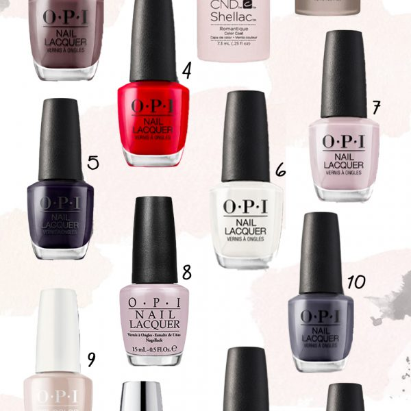 The Best Nail Colors For Fall & Winter