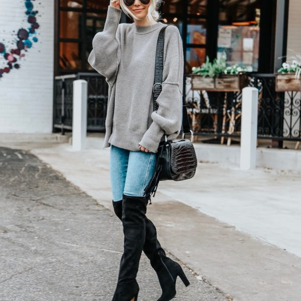 How to Dress Up Basic Jeans and a Sweater