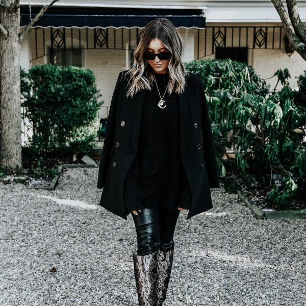 How To Wear Snake-Print Boots