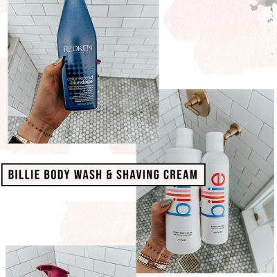 What Products I Use In The Shower
