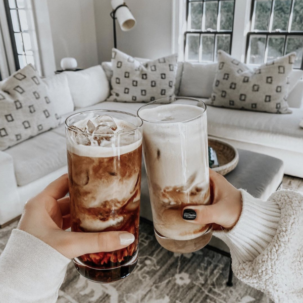 How We Make Iced Coffee at Home