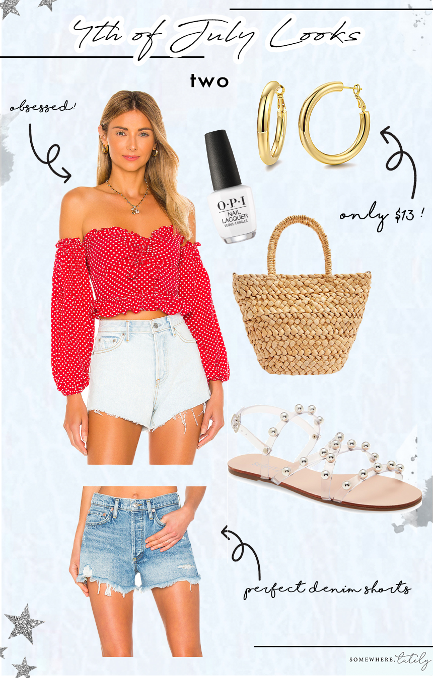 Four Outfit Ideas for the 4th of July