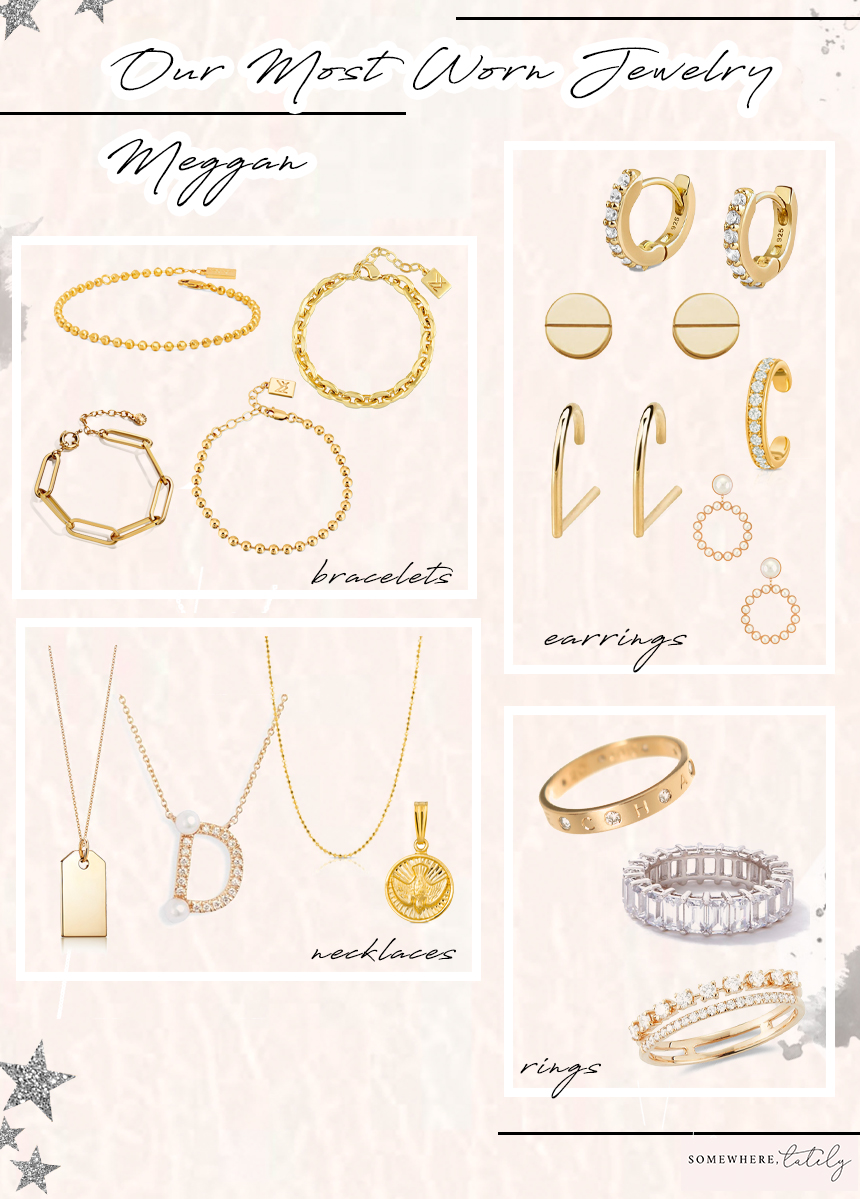 Our Most Worn Jewelry